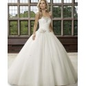 bílé klasické svatební šaty Rory M-L