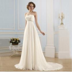 antické krémové svatební šaty Alison S-M