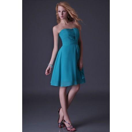 996aa382f34 krátké modré společenské šaty na svatbu L-XL - Hollywood Style E ...
