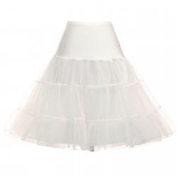 krátká spodnice pod krátké společenské nebo svatební šaty - tmavě modrá