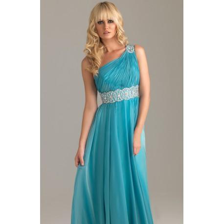 ec008bc75 dlouhé modré plesové společenské šaty Triss M-XL - Hollywood Style E ...