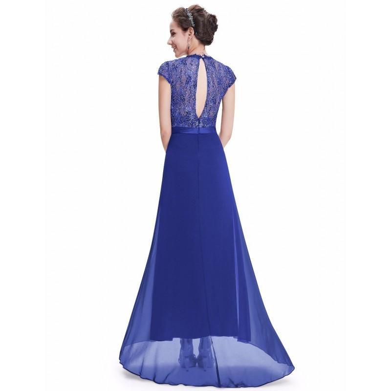 dlouhé tmavě modré společenské plesové šaty Lotta XS - Hollywood ... 75eb34e624