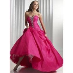 společenské šaty Dita 4 růžové