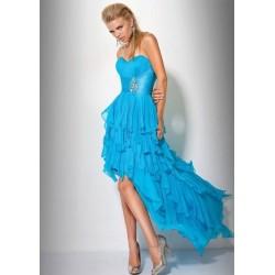 společenské šaty Dita 6 modré