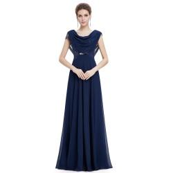 tmavě modré plesové šaty pro matku nevěsty Tina XL