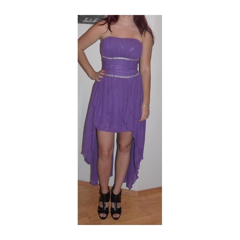šaty do tanečních - fialové - Hollywood Style E-Shop - plesové a ... 9fb66c2220