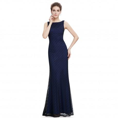elegantní tmavě modré společenské šaty Kimberley L