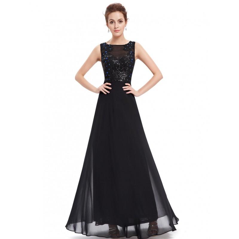 f228ffedc521 Černé společenské šaty na ples s tylovými ramínky a zdobeným korzetem