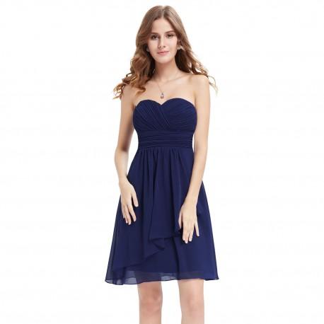 177836308 krátké tmavě modré společenské šaty Felicia M - Hollywood Style E ...