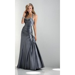 plesové šaty Dita 10 stříbrné