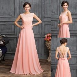 meruňkové dlouhé společenské šaty Dioneta M