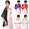 saténový šál přes ramena - výběr barev