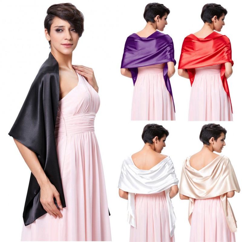 saténový šál přes ramena - výběr barev - Hollywood Style E-Shop ... 3d7ae4e6e1