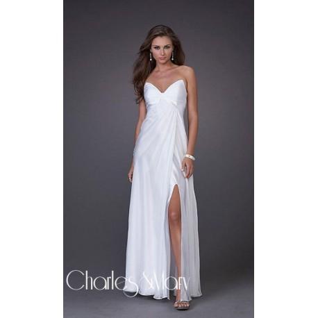 Luxusní bílé společenské šaty na míru - Hollywood Style E-Shop ... 38244aa936