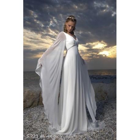Úžasné svatební šaty na míru - motýlek