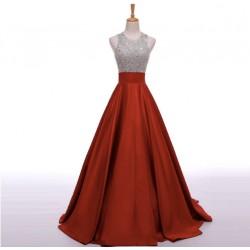 červené plesové šaty na maturitní ples Lerona XS