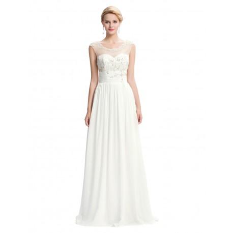 Antické svatební šaty ve velikosti XXL pro baculku. 7b000c96c8