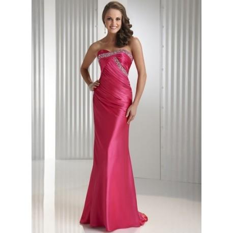 Růžové maturitní šaty na míru