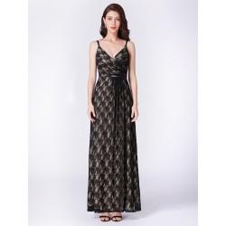 dlouhé krajkované společenské šaty Nela L