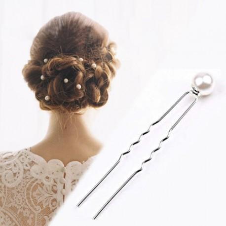 pinetky do vlasů, vlásenky - perlička