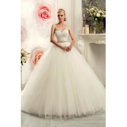 d5ea5d88dc9f princeznovské tylové bílé svatební šaty s bohatou sukní Alyce L-XL