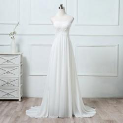 antické svatební šaty s krajkou Valencia XS-S