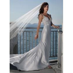 luxusní svatební šaty Carmella SKLADEM