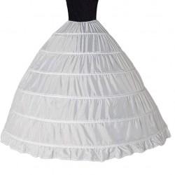 spodnice pro extra velký objem šatů, 6 obručí