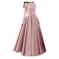 plesové šaty na maturitní ples saténové Eliza XS-S