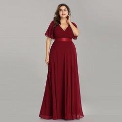 černé dlouhé společenské šaty Lisbet XXL