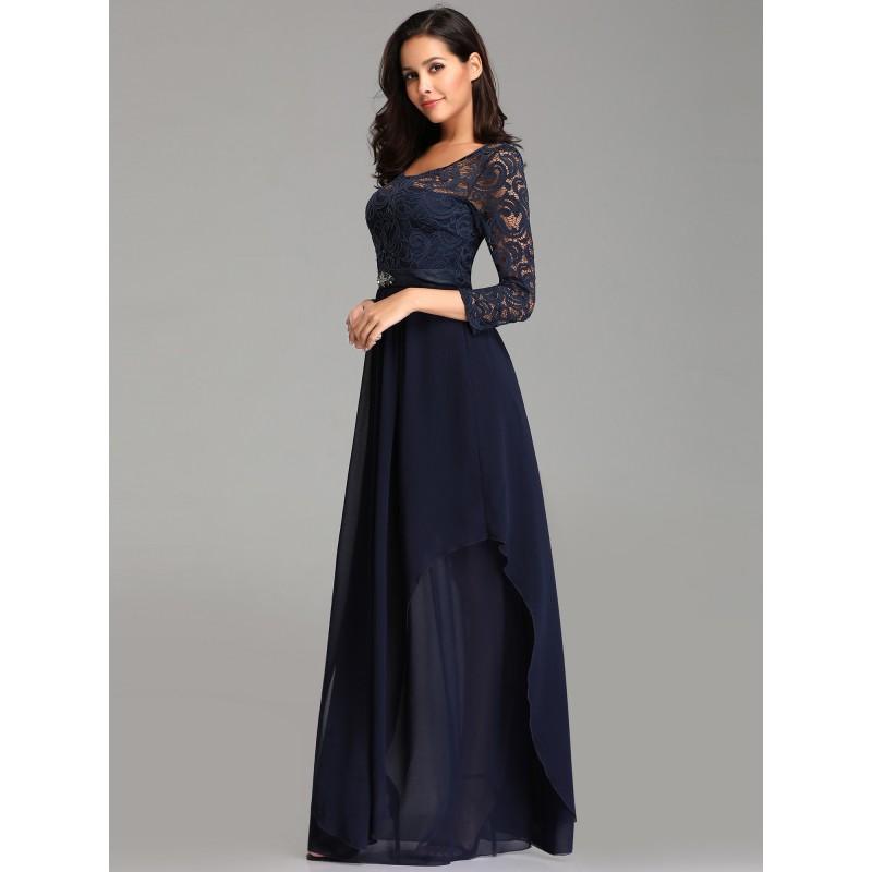 39c369a45fc ... tmavě modré dlouhé společenské šaty pro matku nevěsty XXL-3XL