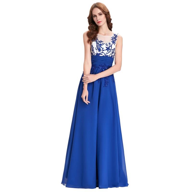 8f98eb63f73d tmavě modré plesové společenské antické šaty Deborah M-L - Hollywood ...