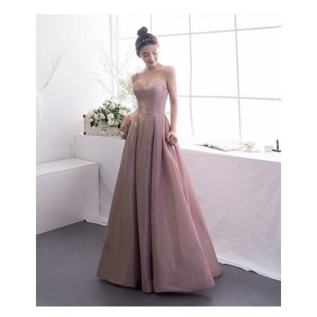 nádherné měňavé plesové šaty na maturitní ples 2019/2020 Monica XS-S