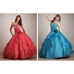Luxusní společenské šaty na míru model Spring 2011