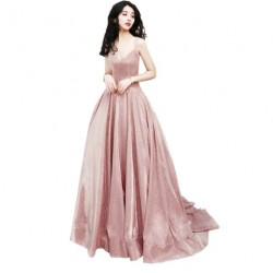 luxusní měňavé plesové šaty na maturitní ples Mina XS-M