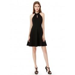 krátké černé společenské šaty Alisa M
