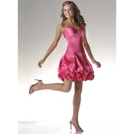 564b34a151f Luxusní růžové plesové šaty na míru - Hollywood Style E-Shop ...