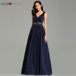 tmavě modré plesové šaty Silvia S