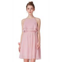 krátké růžové společenské šaty Lizzy S
