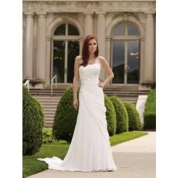jednoduché svatební šaty Arial šité na zakázku