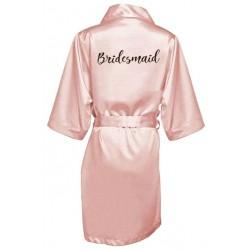 župánek pro družičku Bridesmaid - světle růžový