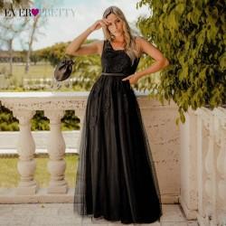 dlouhé černé společenské šaty Andromeda S