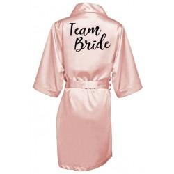 župánek pro družičku Team Bride - světle růžový