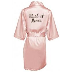 župánek pro družičku Maid Of Honor - světle růžový