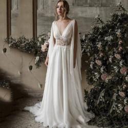 antické svatební šaty Yvonne XS