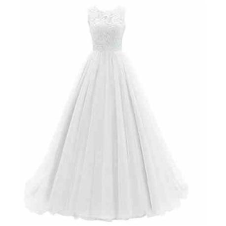 luxusní bílé svatební šaty tylové Penelopé S