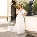 antické boho svatební šaty Catharine XL-XXL