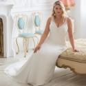 antické boho svatební šaty Elizabeth XL-XXL