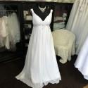 antické boho svatební šaty Lisbeth XXL-3XL