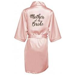 župánek pro družičku Mother of bride - světle růžový